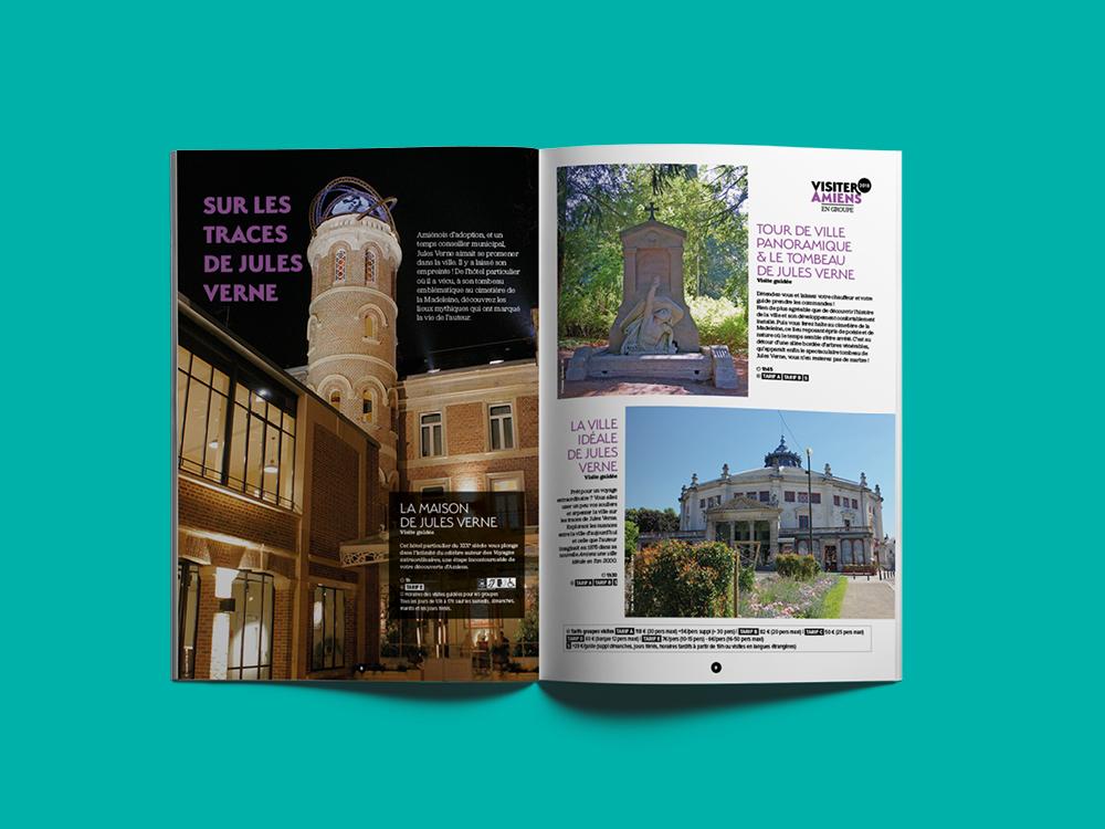 Amiens, édition touristique, marque territoriale, design graphique, communication, studio okowoko, Hauts-de-France
