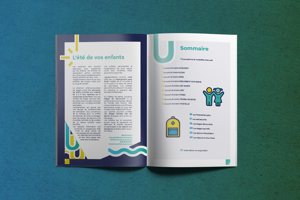 agglo Seine-eure, collectivité, marque de territoire, design graphique, print, communication, okowoko, Amiens, Hauts de france