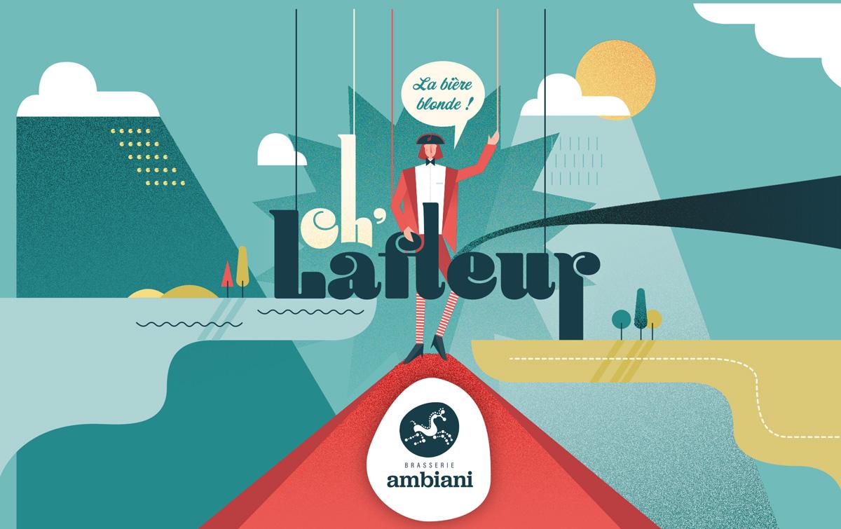 étiquette Lafleur Brasserie Ambiani