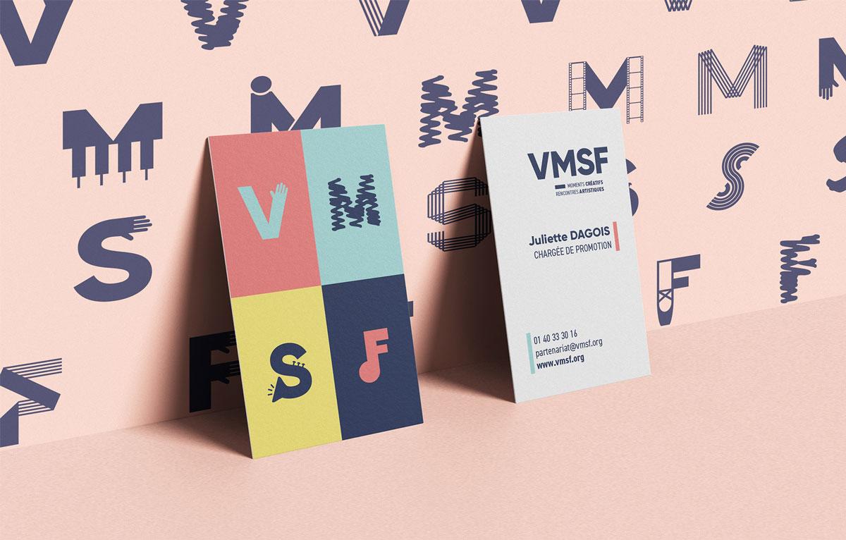cartes de visite VMSF