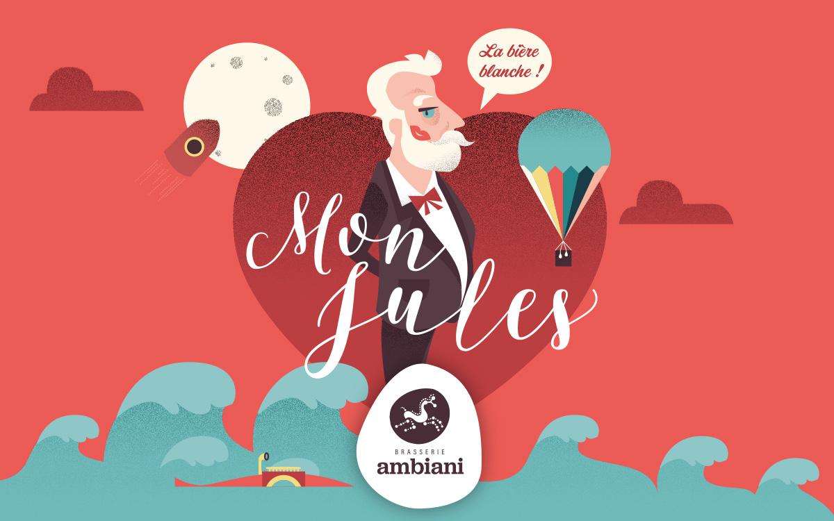 étiquette Mon Jules Brasserie Ambiani