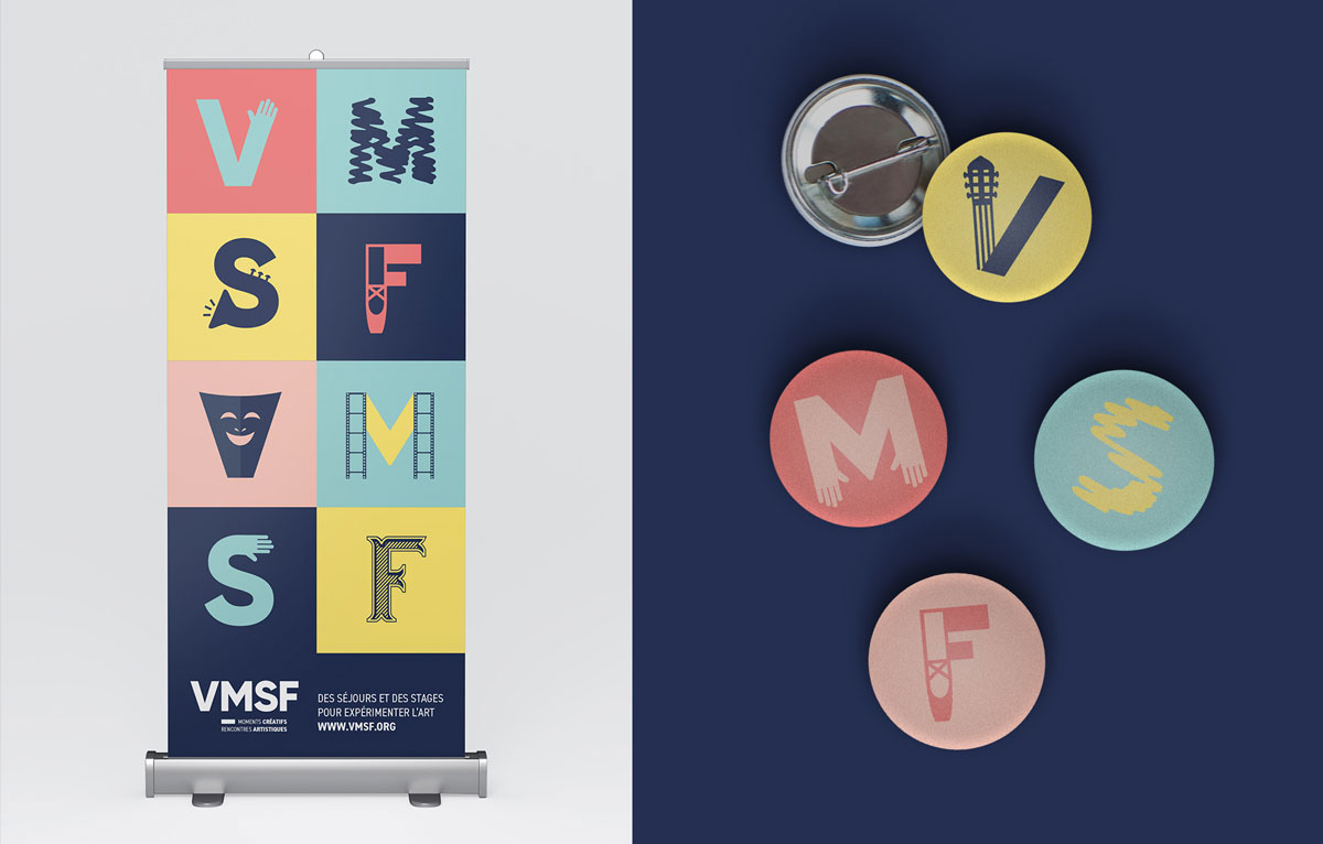 identité visuelle VMSF